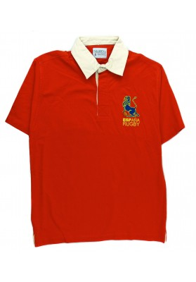 Polo Rugby Rojo